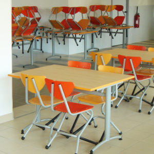 M341 TABLES SULLY & M347 CHAISES OLLE - ST CALAIS (72)