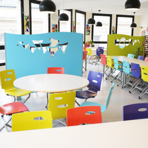 M149 TABLES IVRY, M313 CHAISES ZOOM & M375 CLAUSTRAS OCEANE - ST SULPICE (81)