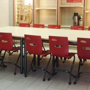 M149 TABLE IVRY & M313 CHAISES ZOOM - AXIANE