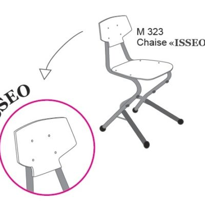 M323 CHAISE ISSEO