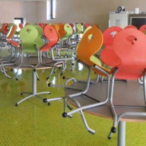 M351 TABLES SULLY & M313 CHAISES SURELEVEES - MARIGNY (50)