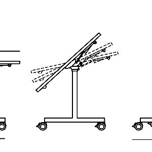M408 CROQUIS TABLES PLAK